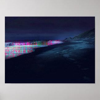 Fiber Seaside Poster