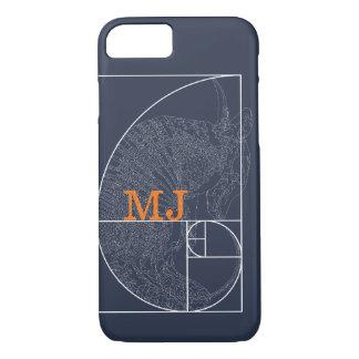 """""""Fibonacci Armadillo"""" iPhone 7 Case: Golden Ratio iPhone 7 Case"""