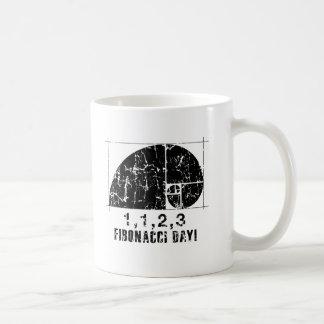 Fibonacci Day, 1,1,2,3, November, 23 Coffee Mug