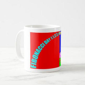 Fibonacci Day, 1,1,2,3, November 23 Coffee Mug