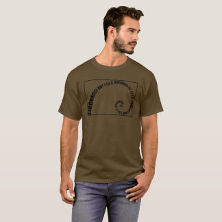 Fibonacci Day, 1,1,2,3, November 23 T-Shirt
