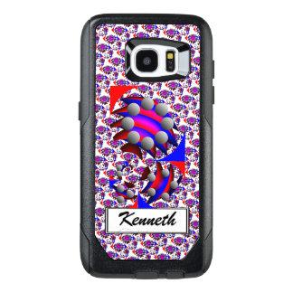 Fibonacci 'Fish' by Kenneth Yoncich OtterBox Samsung Galaxy S7 Edge Case
