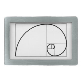 Fibonacci Ratio Belt Buckles