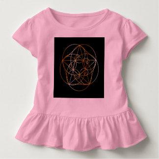 Fibonacci Spiral- The sacred geometry Toddler T-Shirt