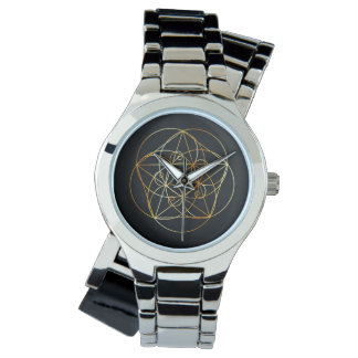 Fibonacci Spiral- The sacred geometry Watch