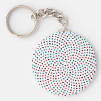 Fibonacci Sunflower Spiral - Melon Key Ring