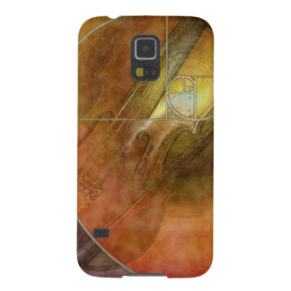 Fibonacci Violin Galaxy S5 Cases