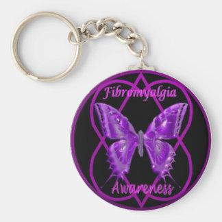 Fibro butterfly key chain