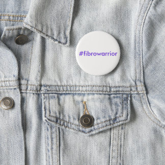 Fibro Warrior Hashtag Pin