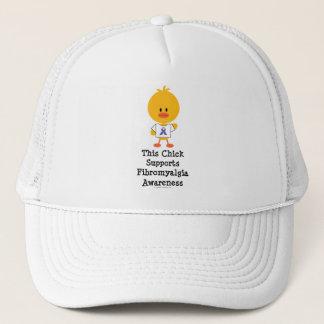 Fibromyalgia Awareness Chick Hat