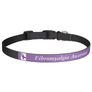 Fibromyalgia Awareness Dog Collar