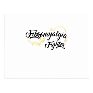 Fibromyalgia Awareness Fighter Ribbon Postcard