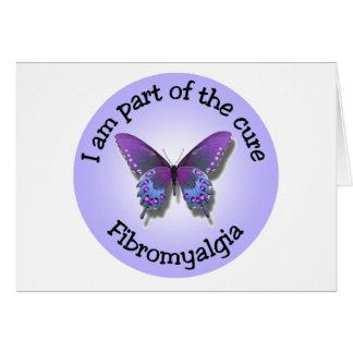 Fibromyalgia Awareness notecard - add your own mes