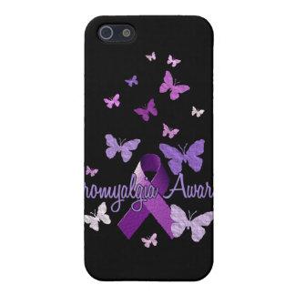 Fibromyalgia Awareness (ribbon & butterflies) iPhone 5/5S Case