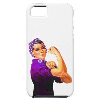 Fibromyalgia Awareness Rosie the Riveter iPhone 5/5S Cover