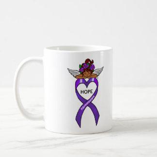 Fibromyalgia Ethnic Hope Angel Mug