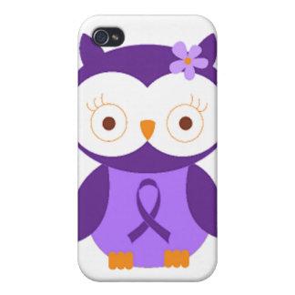 Fibromyalgia Owl iPhone 4 Case
