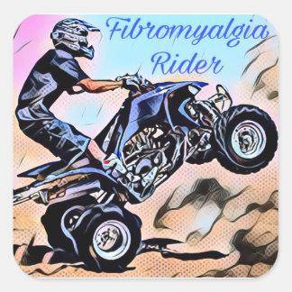 Fibromyalgia Rider Stickers
