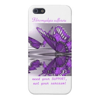 Fibromyalgia Support not Sarcasm Cover For iPhone 5/5S