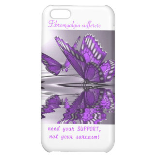 Fibromyalgia Support not Sarcasm iPhone 5C Covers