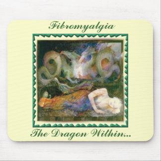 Fibromyalgia, The Dragon Within... Mouse Pad