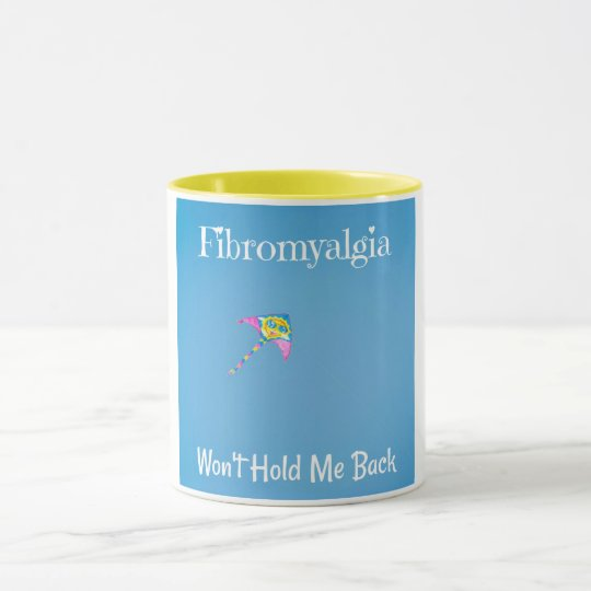 Fibromyalgia Won't Hold Me Back Coffee Mug