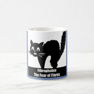 Fibrophobia Fear of Flares Coffee Mug