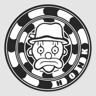 Fickles The Hobo Honk Classic Round Sticker