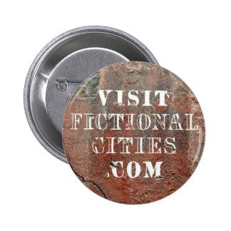 Fictional Cities wall badge