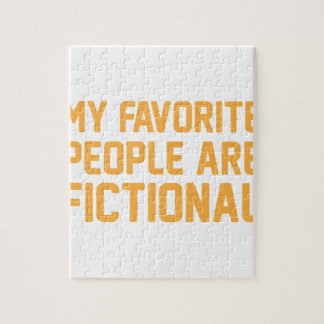 Fictional People Jigsaw Puzzle