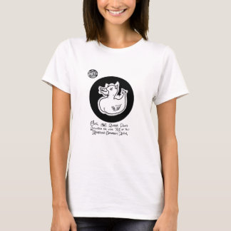 "FICTS ""Death Duck"" Ladies Babydoll T-Shirt"