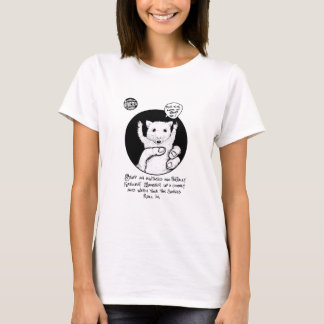 "FICTS ""Hamster Savings"" Ladies Babydoll T-Shirt"