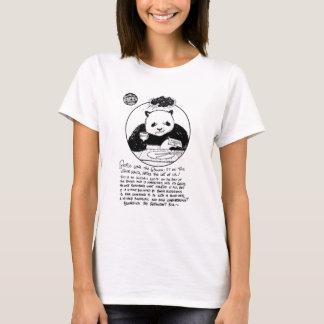 "FICTS ""Panda Rage"" Ladies Babydoll T-Shirt"