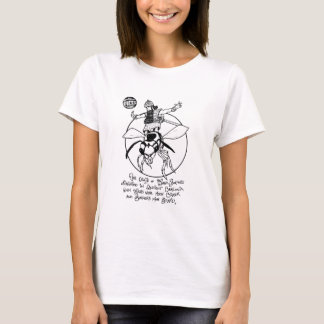 "FICTS ""Wasp-Surfing"" Ladies Babydoll T-Shirt"