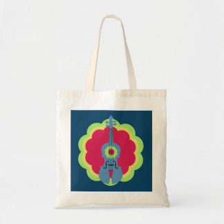 Fiddle Burst Tote Bag
