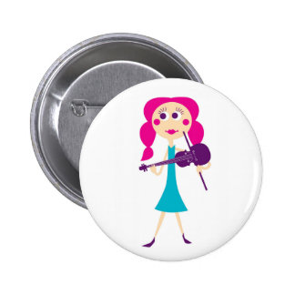 Fiddle Gal Button