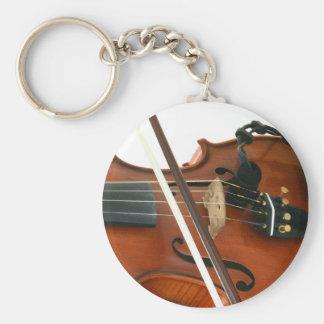 Fiddle Key Ring