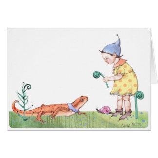 Fiddlehead Elf Card
