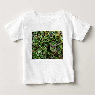 Fiddlehead Ferns Baby T-Shirt