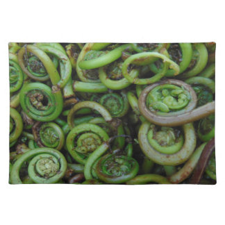 Fiddlehead Ferns Placemat