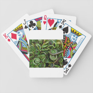 Fiddlehead Ferns Poker Deck