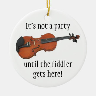 FIDDLER Christmas ornament