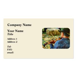 Fiddler Pack Of Standard Business Cards