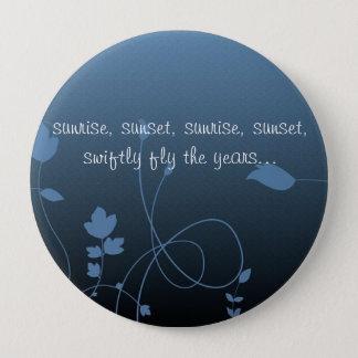 Fiddler quote 10 cm round badge