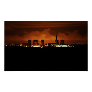 Fiddlers Ferry Power Station Poster