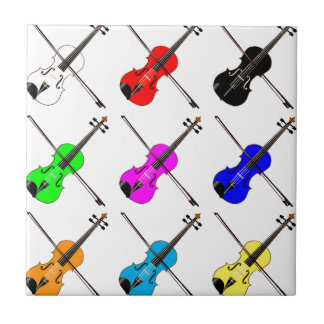 Fiddles Ceramic Tile