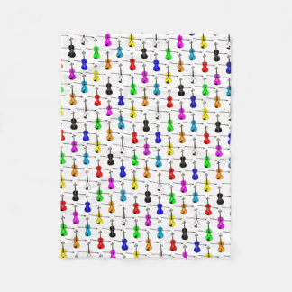 Fiddles Fleece Blanket