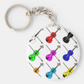 Fiddles Key Ring