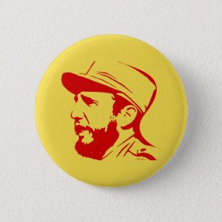 Fidel 6 Cm Round Badge