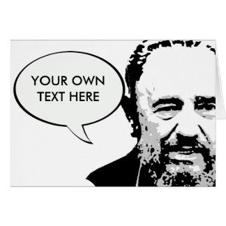Fidel Castro Card